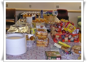buffet Jan 13, 2007