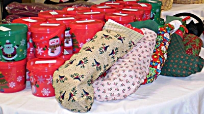 Holiday Cheer 2009 cookies and stockings
