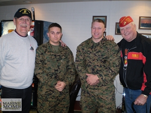 Choptank MCL with Marines at Mercy Hall