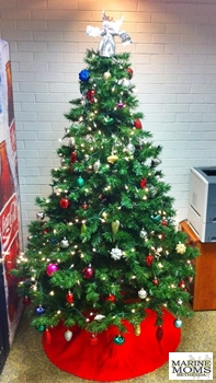 Holiday Cheer Christmas Tree at Mercy Hall