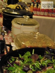 salad and crockpots