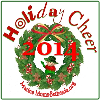 Marine Moms-Bethesda 2014 Holiday Cheer Logo