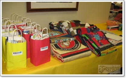 pantry bags, quilts and pillowcases