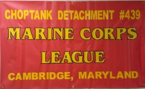 Choptank MCL Detachment's Banner