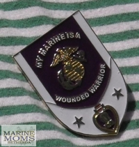 My son is a Wounded Warrior pin.