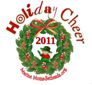 Marine Moms-Bethesda Holiday Cheer 2011 logo