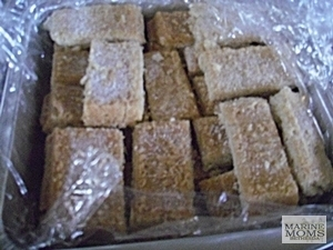 Julie's Shortbread cookies.