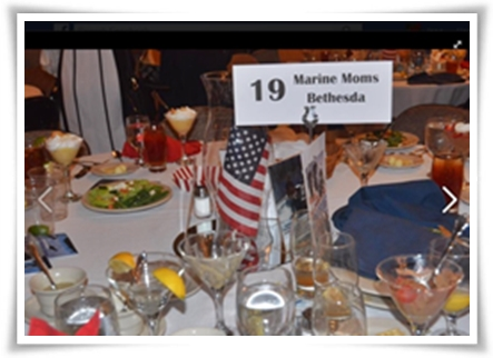 "Table 19, Honoring the Sacrifice 3rd Annual ""American Heroes Dinner"" July 15, 2016. Photo courtesy of Mr. John Shackleford."