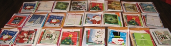Marine Moms-Bethesda Holiday Cheer cards